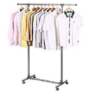Clothes Lines & Racks - Stain Steel Single Pole Clothing Rail was ...