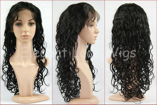 100% VIRGIN HAIR FULL LACE WIG-30MM CURL