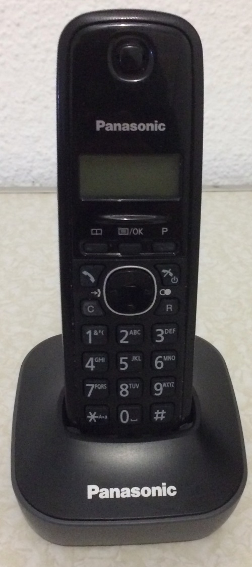 Telephones Panasonic Kx Tg1611 Cordless Phone Was Listed For R130
