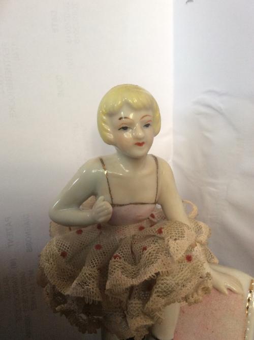 Porcelain & Ceramic - Porcelain ballerina  Vintage 1920¿s