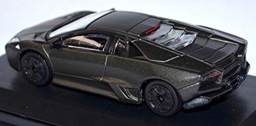 Models Lamborghini Reventon 2007 Matte Black Leo Ixo New Boxed