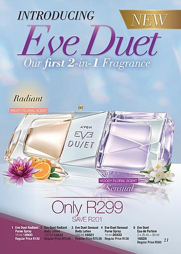 Fragrances For Her Avon Eve Duet Eau De Parfum 50ml At Only R299