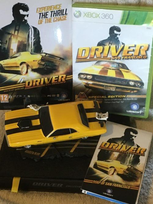 Xbox 360 - Driver San Francisco - Collectors Pack