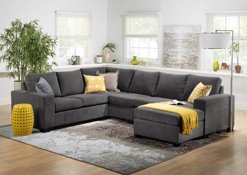 Mali 3pc U - Shaped Corner Sofa - Haven Furniture Designs - Couches
