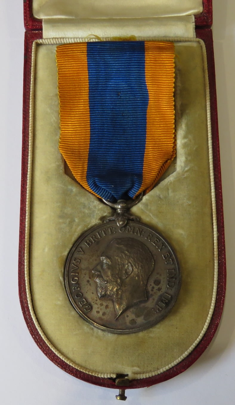 1910 Union of South Africa medal issued to Sir Geoffrey de Waal Bart