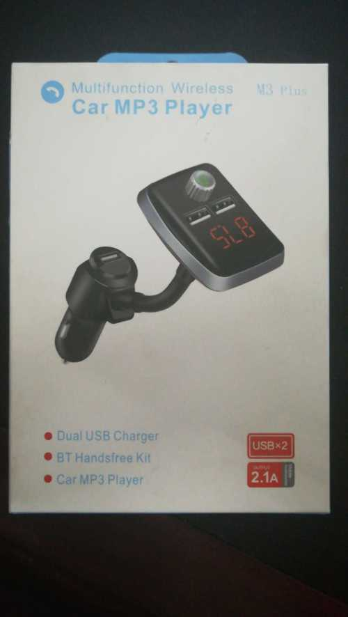 Fm Transmitter Wireless Car MP3 Player M3 Plus