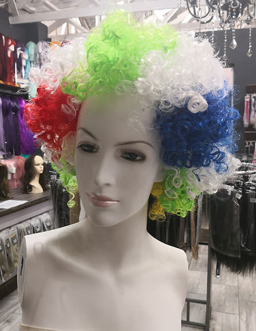 Wigs Party Sale Party Afro Wig Sa Flag Was Listed For