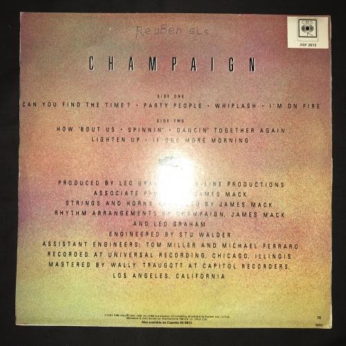 Soul & Funk - Champaign - How 'Bout Us (LP) Vinyl Record was