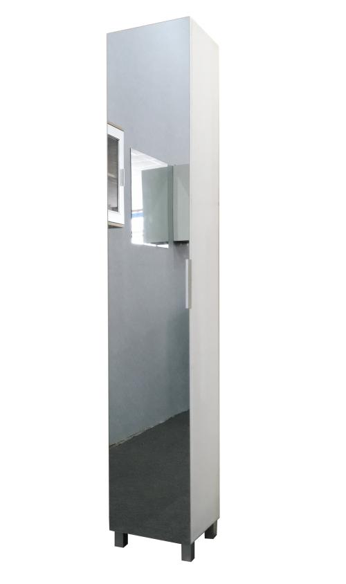 Other Furniture - Hazlo Floor Standing Mirrored Bathroom ...