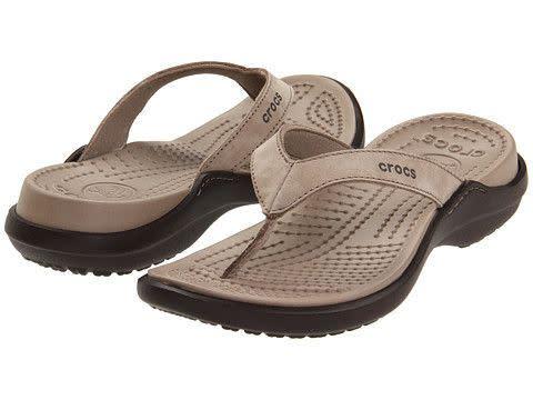 393b23856d1f Other Women s Shoes - CROCS WOMEN S CAPRI IV FLIP - MUSHROOM ...