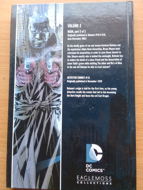 Graphic Novels Batman Hush Part 2 Dc Comics Graphic Novel