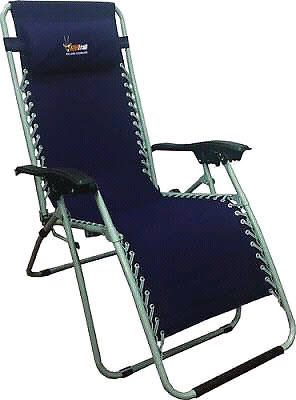 Chairs Afritrail Deluxe Lounger Folding Relax Chair