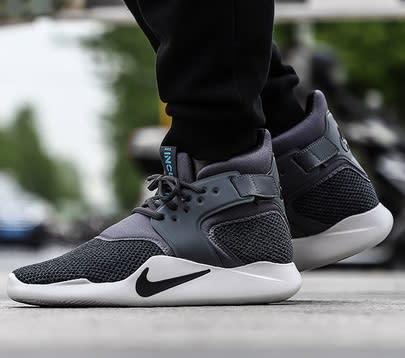 3d08e5243a47 Original Mens Nike INCURSION MID SE Dark Grey Black Grey 916764 001 Size UK  11 (SA 11)