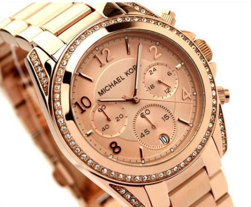 0b7794c1d609 Women s Watches - Michael Kors Blair Rose gold chronograph MK5263 ...