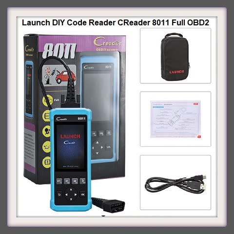 Other Diagnostic Tools - Launch DIY Code Reader CReader 8011 Full