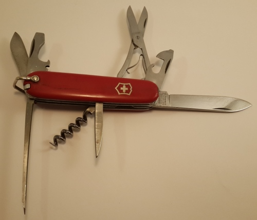 Hunting Knives Swiss Army Knife Rare Vintage Victoria