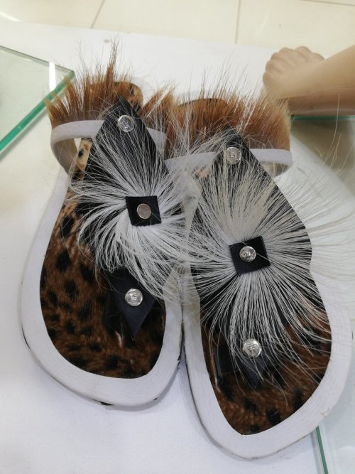 188a697a4 Africa - African Zulu Traditional Leopard print sandals shoes was ...