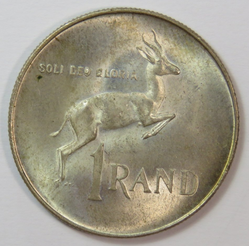 """1966 Silver RSA R1 with """"O"""" and """"G"""" filled with metal"""