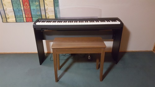 piano organ yamaha p95b digital piano was listed for. Black Bedroom Furniture Sets. Home Design Ideas