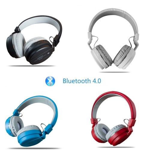 headsets bluetooth fm headphones stereo microphone headset wireless foldable rechargeable was. Black Bedroom Furniture Sets. Home Design Ideas