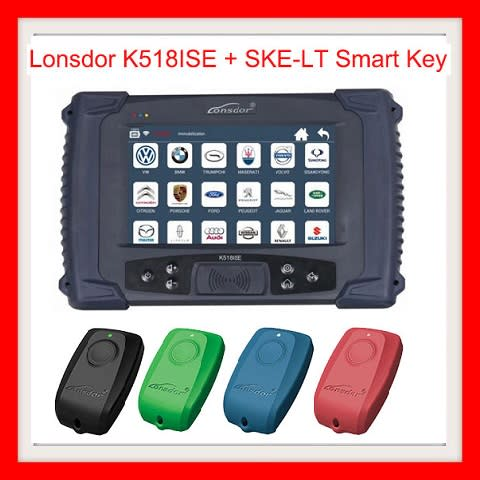 Key Coders - Lonsdor K518ISE Key Programmer Plus SKE-LT Smart Key