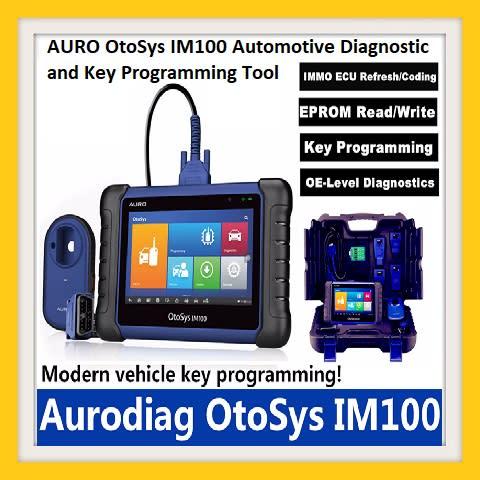 AURO OtoSys IM100 Automotive Diagnostic and Key Programming Tool
