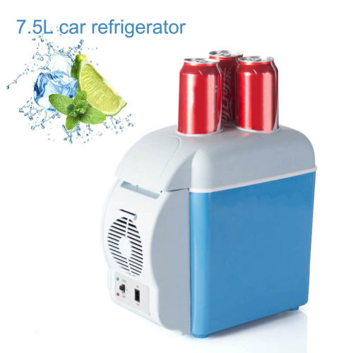 Portable Mini Car Fridge Freezer 12V 7 5L Cooler Warmer Refrigerator for  Travel