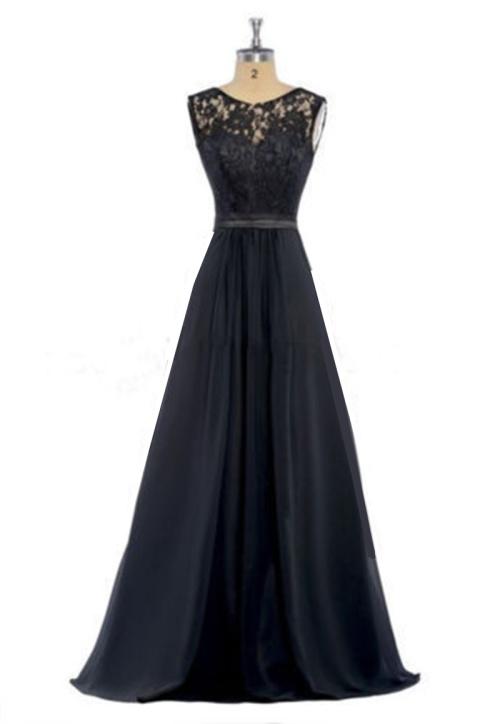 5a1187725d *WILD ROSE* Black Formal / Bridesmaid / Evening Dress - FREE SHIPPING