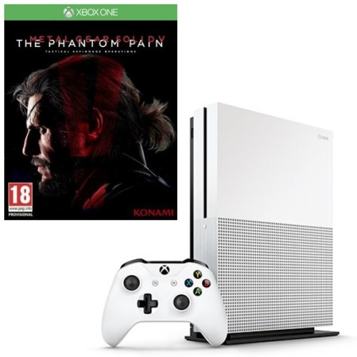 [BARGAIN] XBOX ONE S 500GB HARD DRIVE CONSOLE CONTROLLER + GAME, ETC