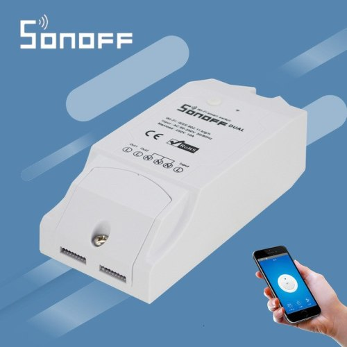 SONOFF DUAL- 2 CHANNEL WIFI SWITCH