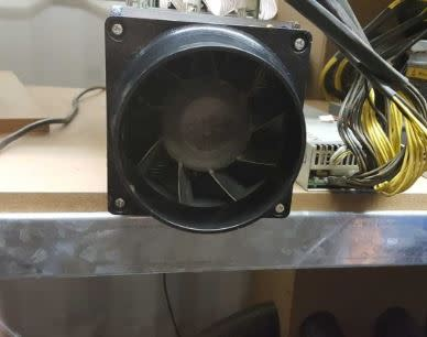 Other Computers & Networking - Antminer Fan Duct was listed for R99