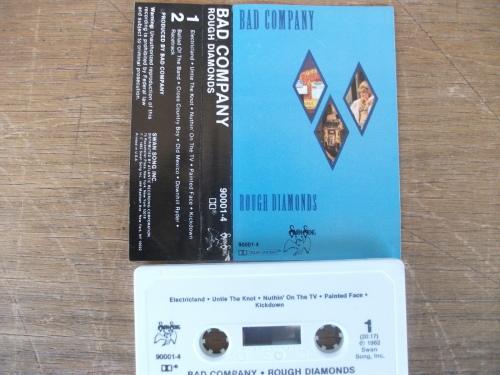 Bad Company - Rough Diamonds (1982) [Import Cassette]