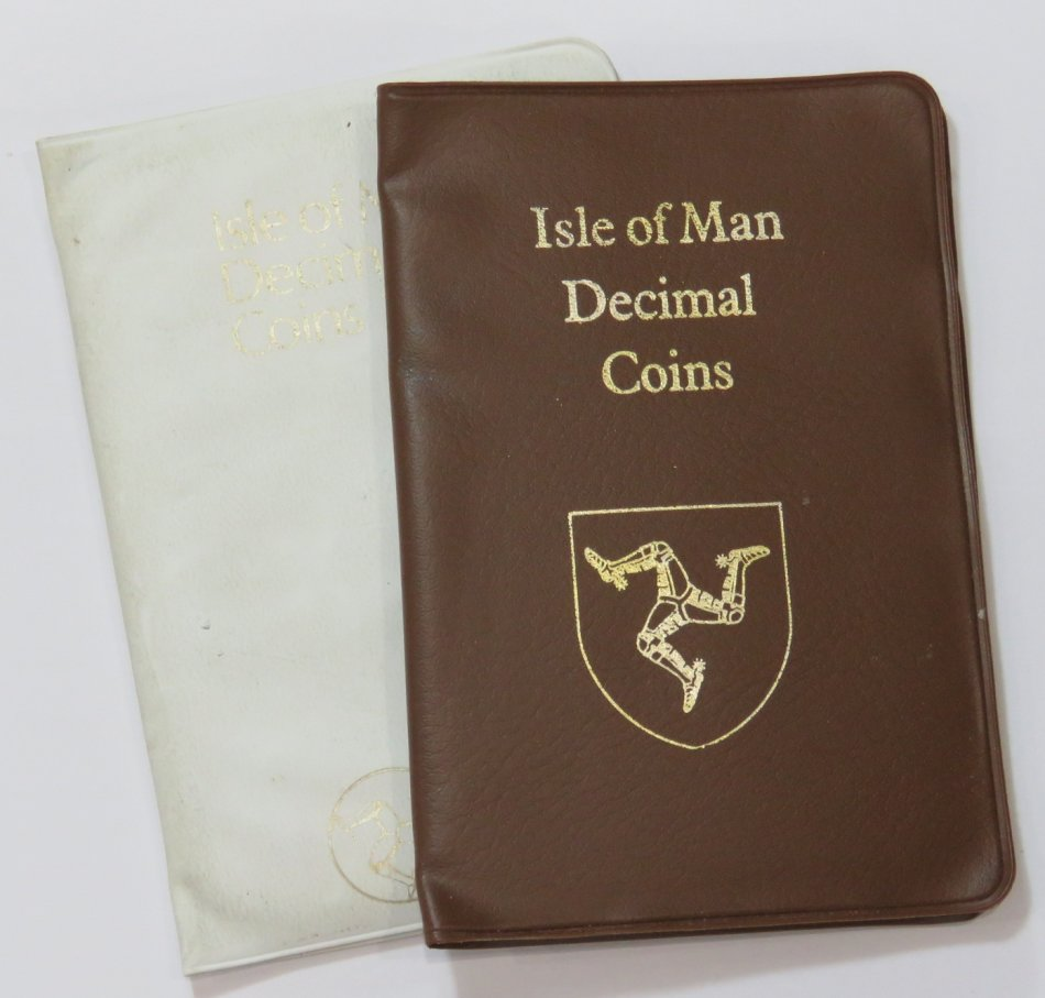 Isle of Man 1971 and 1982 Decimal coin sets