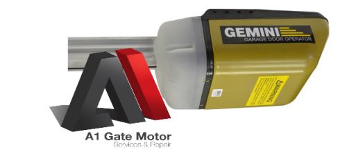 Garage Amp Gate Motors Gemini Gdo Sectional Garage Door
