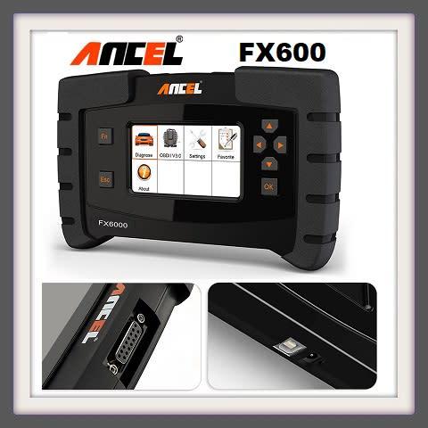 Scanners - ANCEL FX6000 OBD2 Scanner Full System Automotive Code