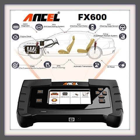 Scanners - ANCEL FX6000 OBD2 Scanner Full System Automotive Code