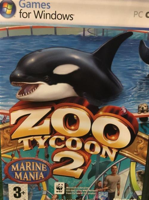 PC - Zoo Tycoon 2 - Marine Mania Expansion pack