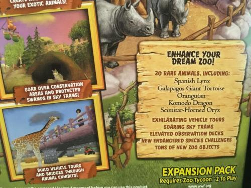 Games - PC - Zoo Tycoon 2 - Endangered Species Expansion