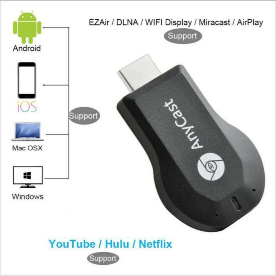 Digital Media Players & Streamers - M9 Plus Anycast - Dual-Core Wi