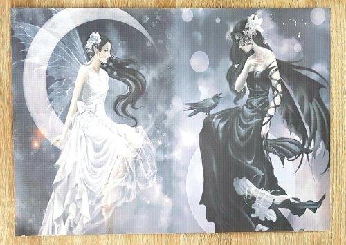 Place Mats - Fairies Placemat, Good Versus Evil Fairy Place