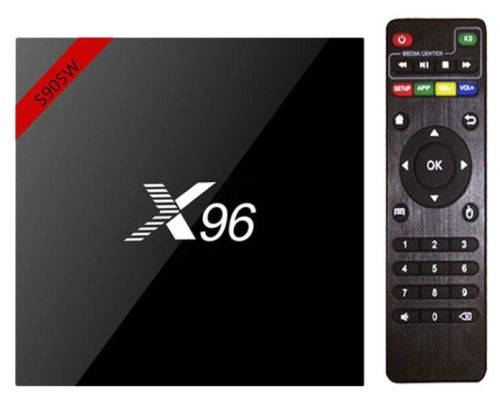 TV & Projector Accessories - x96 Android TV Box With wireless