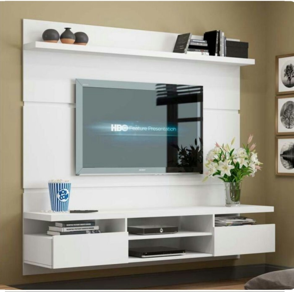 Entertainment Units Evoque Supawood Floating Tv Stands