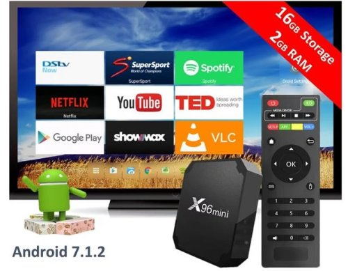 Digital Media Players & Streamers - X96 Mini (ATVXperience) Android