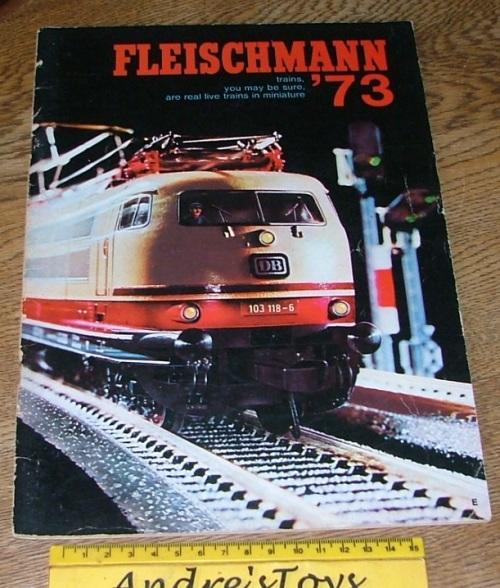 Other - Model train Books / catalogs (7) ~ Fleichmann was