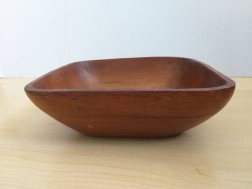 Square Wooden Salad Bowl
