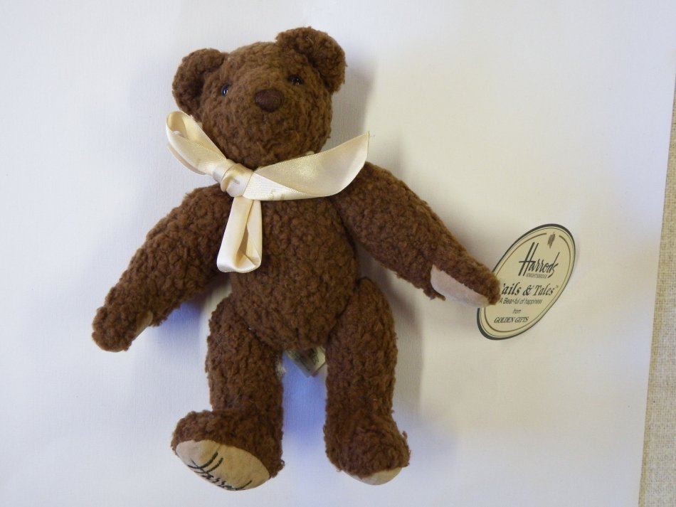 Harrods Tails And Tales Teddy Bear Was Listed For