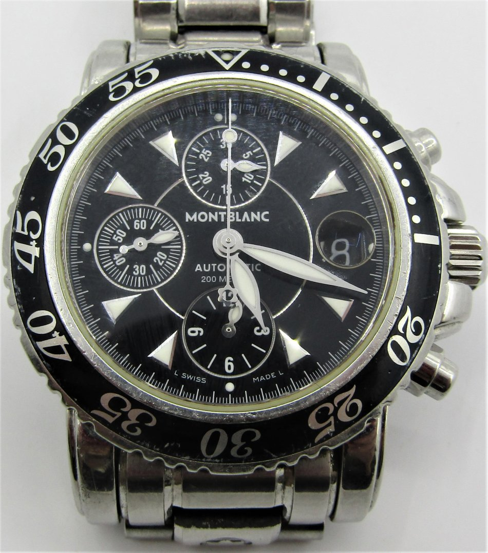 235c7b62ed9d7 Men's Watches - Montblanc Meisterstuck Sport Chronograph Automatic ...