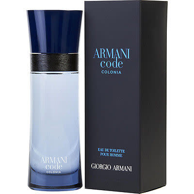 9bc95f008f Fragrances for Him - Giorgio Armani Code Colonia for Men 50ml EDT ...