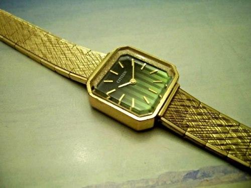 Vintage Ladies Quality 21 Jewel Citizen Watch Runs Well