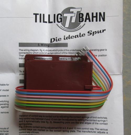 TILLIG BAHN HO SCALE - UNDERFLOOR MOTOR TURNOUT DRIVE (MINT BOXED)